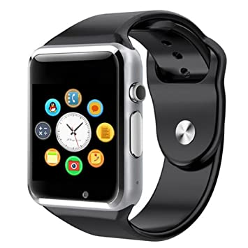 Reloj inteligente deportivo Smartwatch de Vitalite con Bluetooth modelo A1 para móviles Samsung, Xiaomi, Huawei, Sony, LG, HTC, iPhone 7, 6S, 6, 5S, 5 ...
