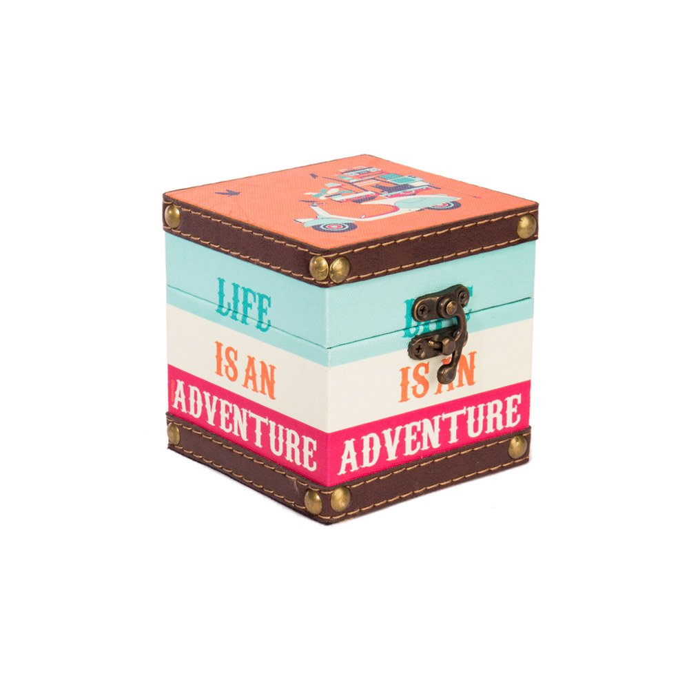 'Life Is An Adventure' Storage Box