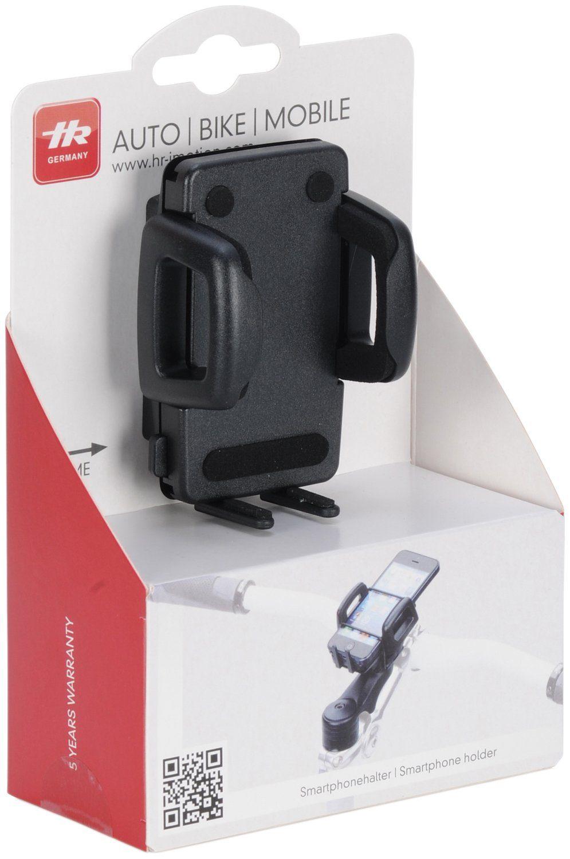 soluci/ón para Smartphone Color Negro HR-iMotion Compacto Soporte Universal antivibraci/ón