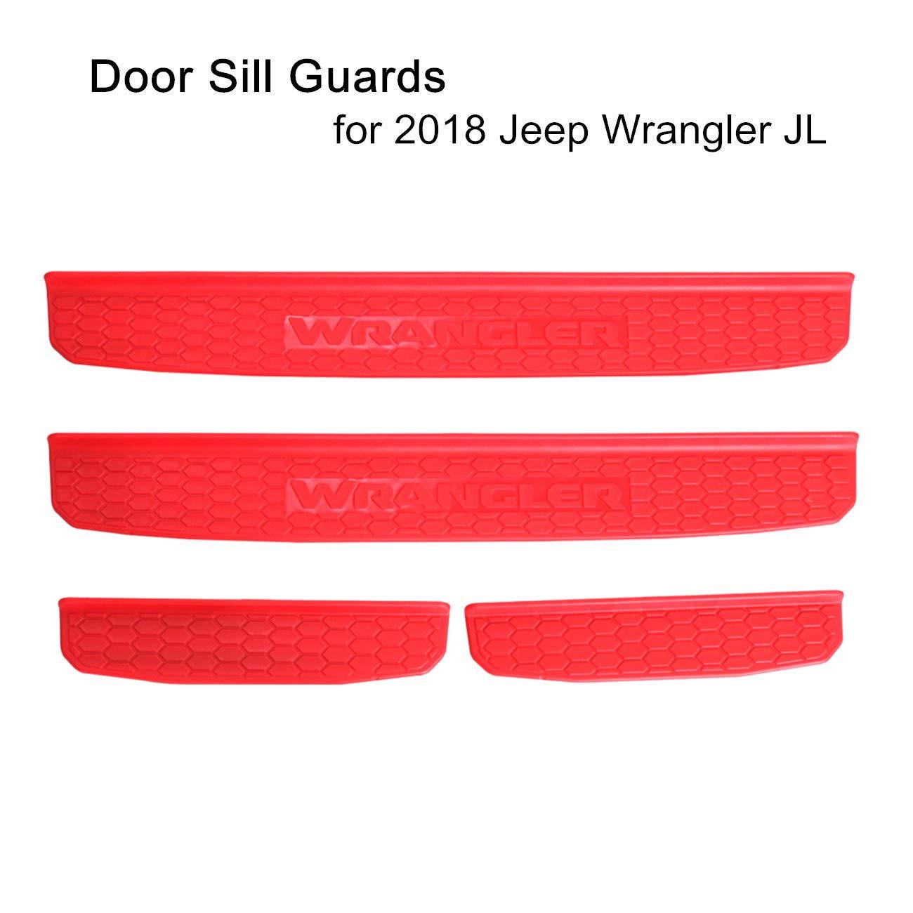Amazon.com: SXMA 2018 Jeep Wrangler - Guardabarros para ...