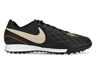 0f0ebe159de1 Nike Tiempo Legend 7 Academy 10R TF Soccer Shoes (Black/Orewood Brown) (