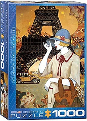 Eurographics Paris Adventure by Helena Lam 1000 Piece Puzzle ...