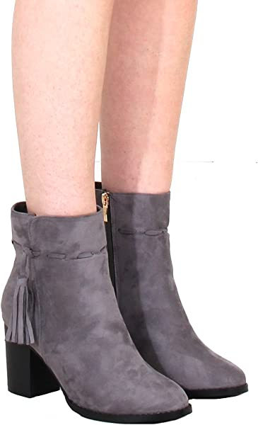 Catwalk Fashion, Damen Stiefel & Stiefeletten grau grau