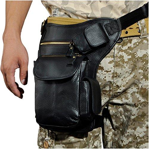 BUM Men's Sling Bag (Black) - 5