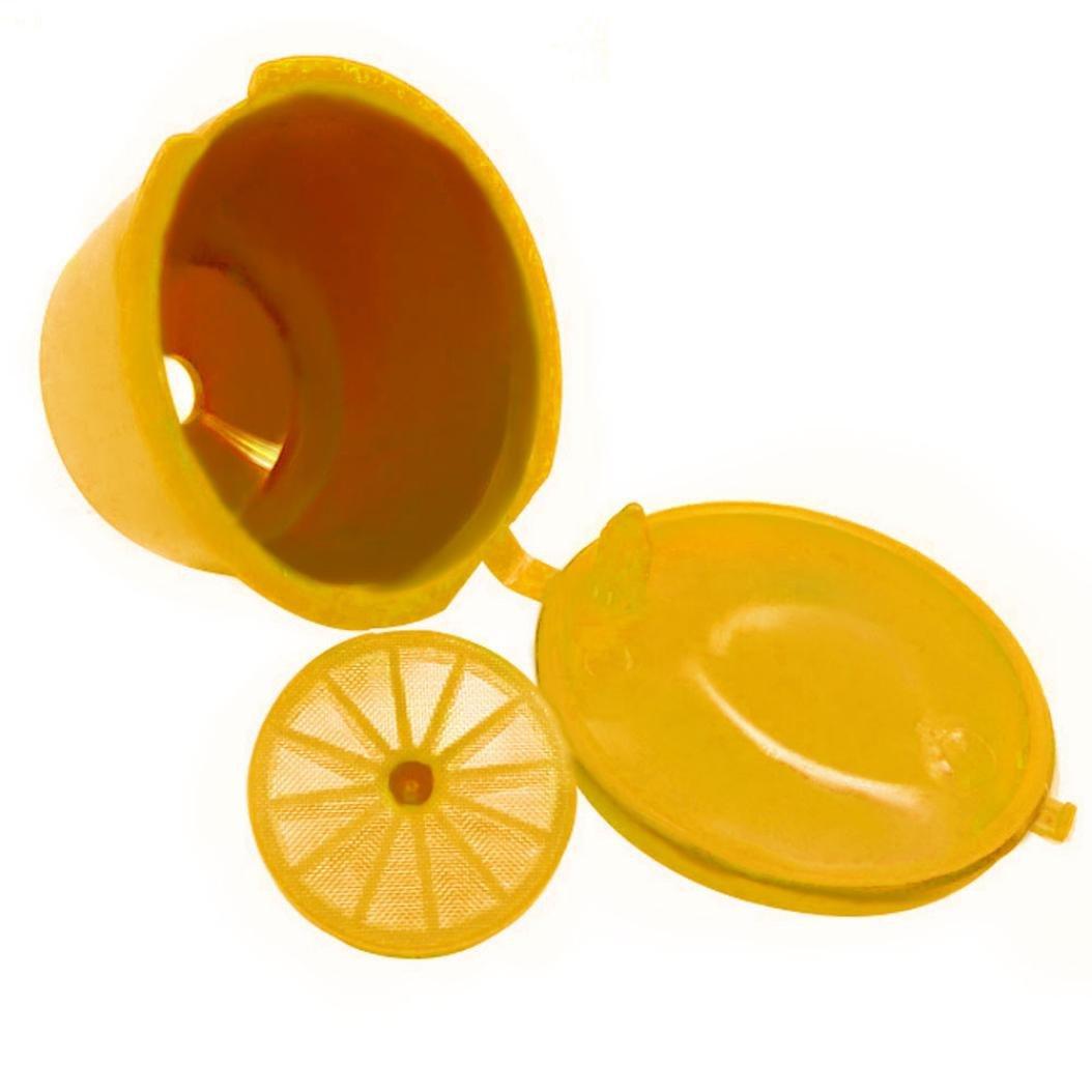 STRIR Cápsulas Filtros de café recargable reutilizable con Presión ...