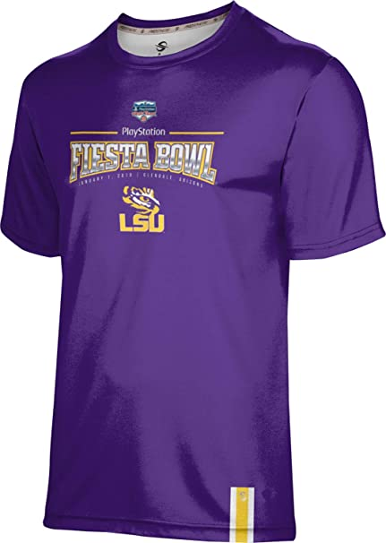 School Spirit Sweatshirt Solid Fiesta Bowl 2019 LSU University Girls Pullover Hoodie
