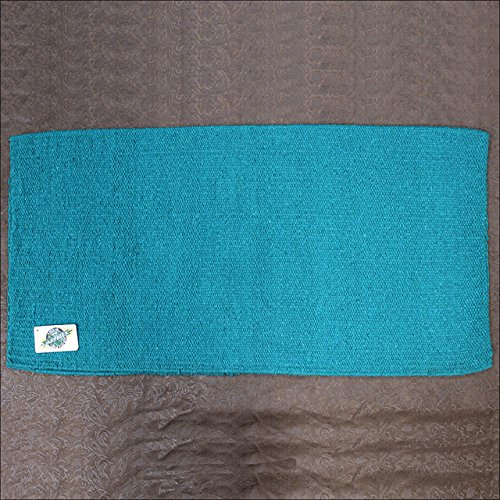 mayatex-ranger-hogan-solid-saddle-blanket-teal-36-x-34-inch