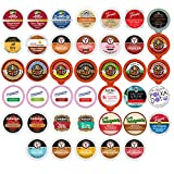 Winter and Seasonal Flavored Coffee, Tea, Hot Cocoa and Cider, Single Serve Cups for Keurig K cup Brewers (40 Count) offers