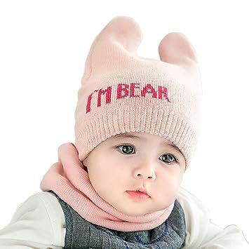 Bebes niños Conjunto Bufanda Gorro baf1f941fbf