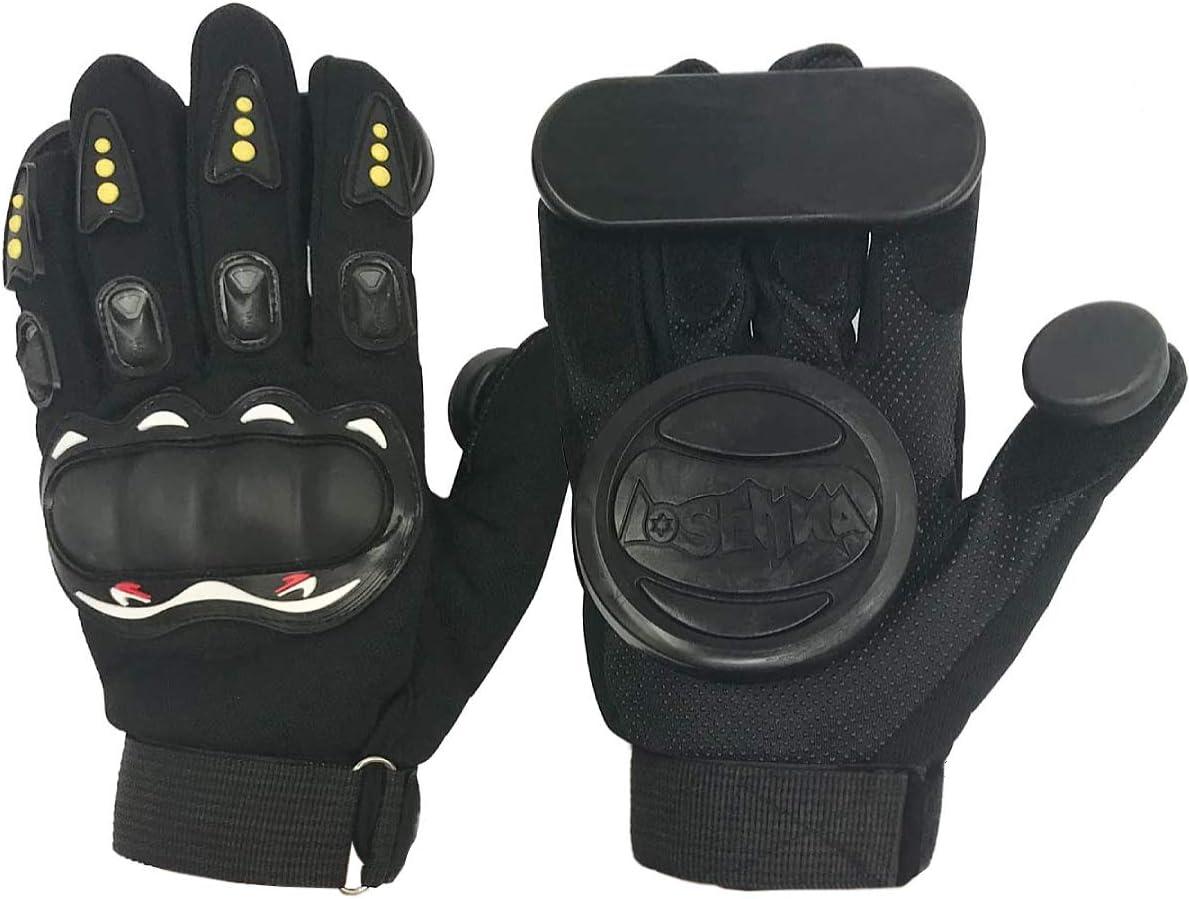 1-Pair Downhill Longboard Slide Gloves for Downhill Skateboarding
