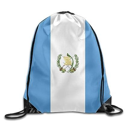 Amazon.com | Guatemala Flag Cool Gym Drawstring Bags Travel ...