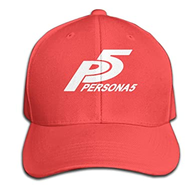 Amazon.com  Persona 5 Let s Start The Game Snapback Baseball Peaked ... c2a24c88928