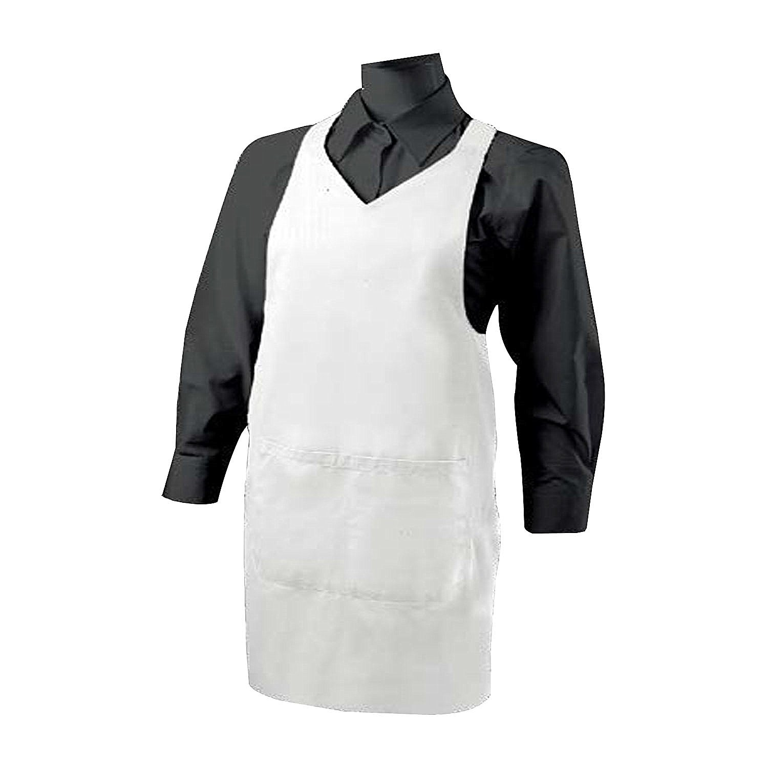 MISEMIYA Cleaning Apron with Pocket 85  mm * 70  mm Uniform Work Clinica Hospital Cleaning Veterinary Health hostelerí a- Ref. 8601 burgundy