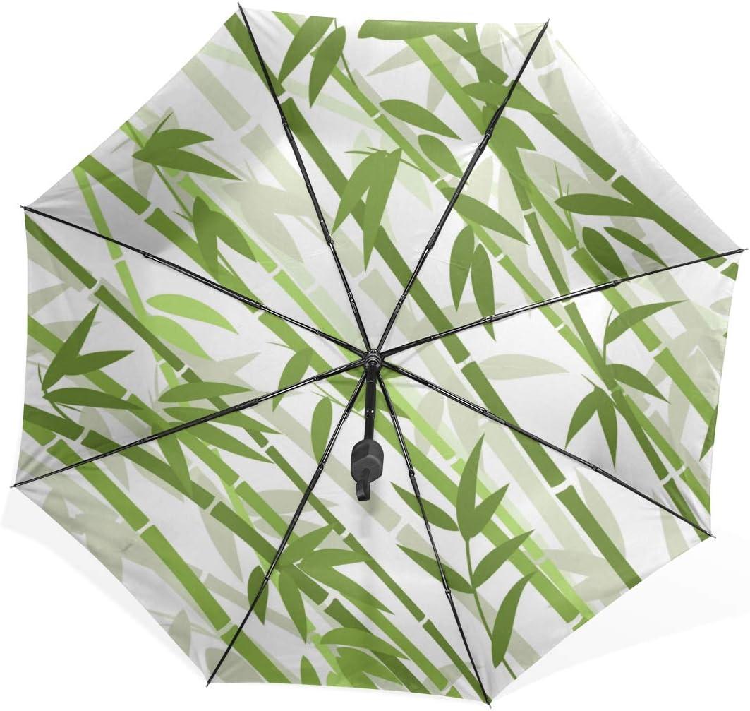 Umbrella Totes Chinese Or Japanese Bamboo Grass Oriental Wallpape Portable Compact Folding Umbrella Anti Uv Protection Windproof Outdoor Travel Women Foldable Umbrella