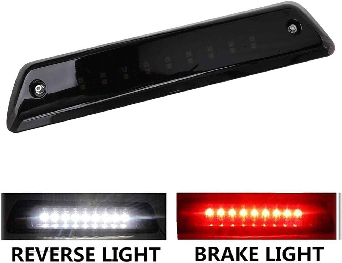 LED 3rd Brake Light fit for Ford F150 2009, 2010, 2011, 2012, 2013, 2014 Reverse Lamp High Mount Tail Light Smoke Lens Waterproof