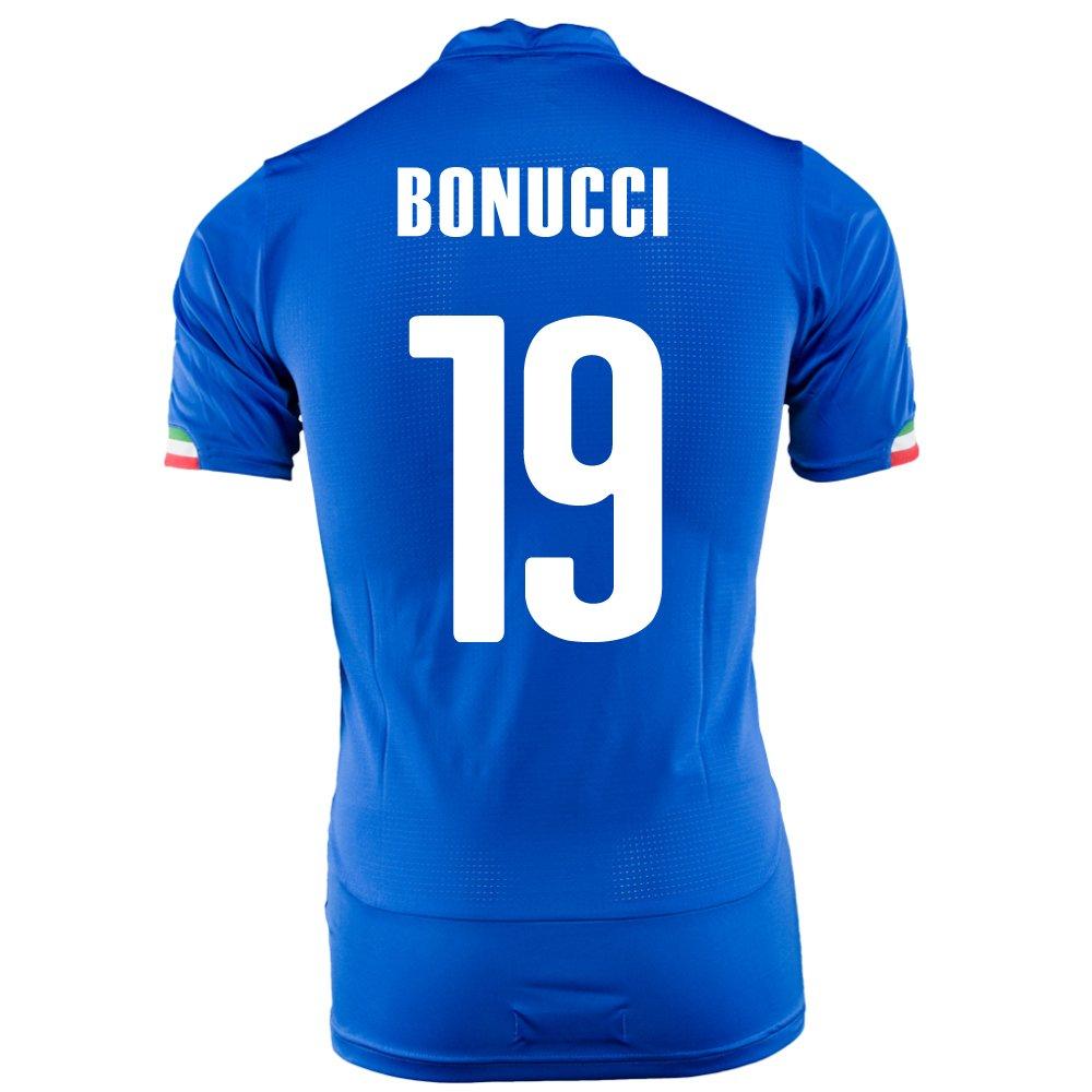 PUMA BONUCCI #19 ITALY HOME JERSEY WORLD CUP 2014/サッカーユニフォーム イタリア代表 ホーム用 ワールドカップ2014 背番号19 ボヌッチ B00JJYKGZW   Small