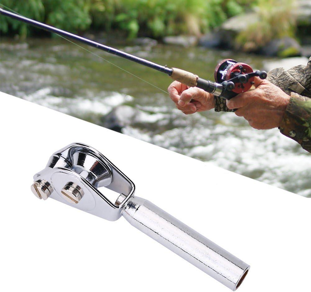 2 Packs Fishing Rod Guide Stainless Steel Tip Top Bearing Trolling