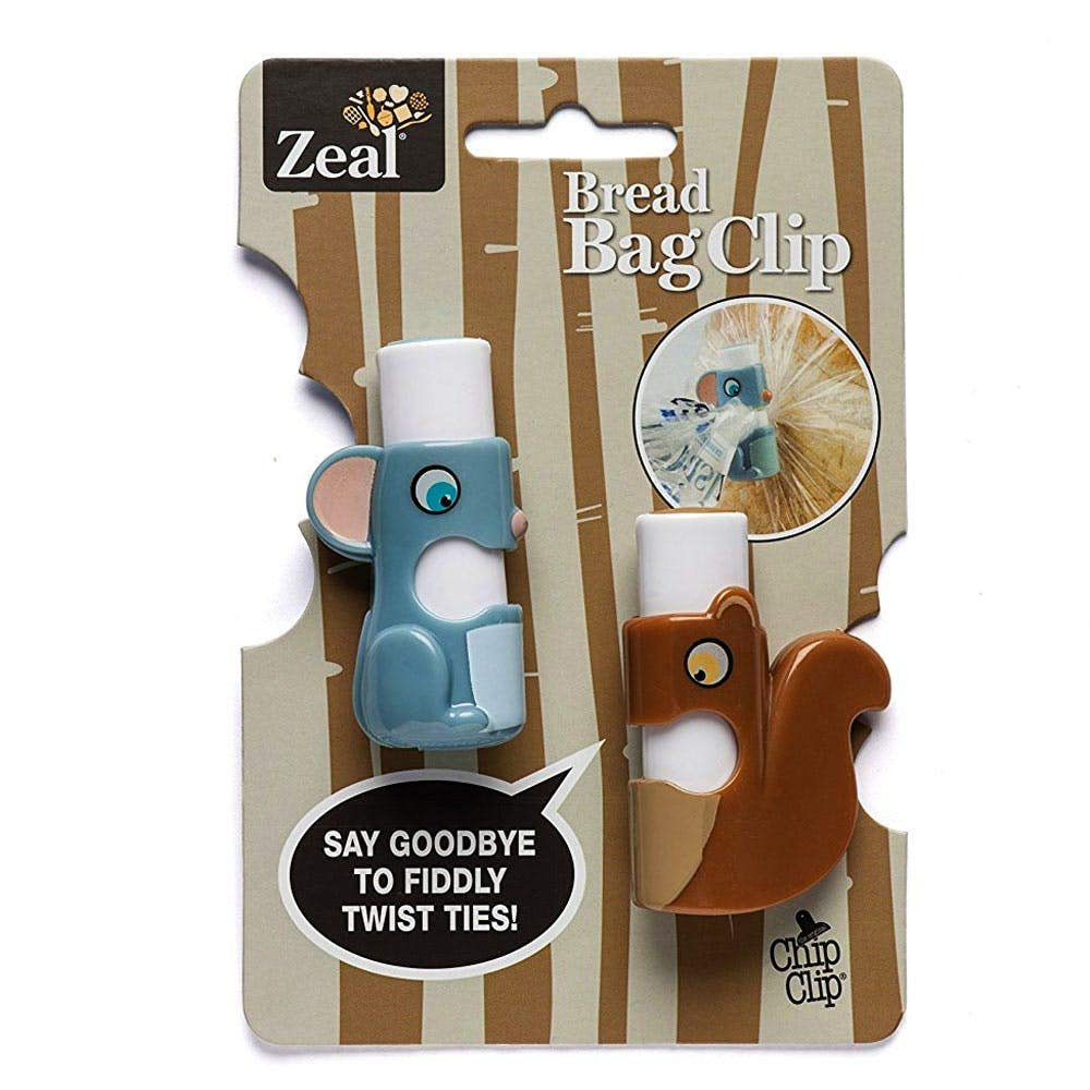 Zeal Bread Bag Clips : 2 Pack