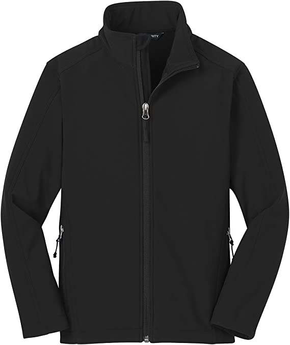 Port Authority Youth Core Soft Shell Jacket Y317 Black M