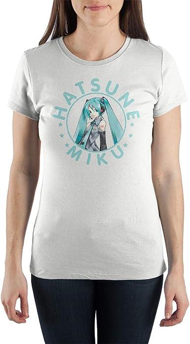 Hatsune Miku Japanese Cartoon Shirt Juniors Graphic Tee