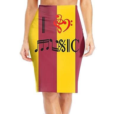 Amazon com: I Love Music In Musical Symbols Women's Sexy