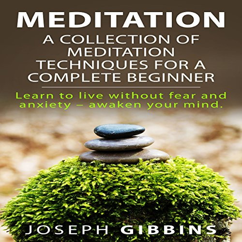 Meditation: A Collection of Meditation Techniques for a Complete Beginner: Learn to Live Without Fear and Anxiety - Awaken Your (Meditation Collection)