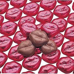 Bulk Foil-Wrapped Chocolate Lips