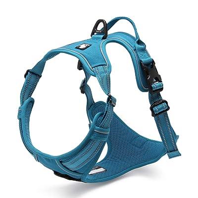 Chai's Choice Best Outdoor Adventure Dog Harness. 3M Reflective Vest
