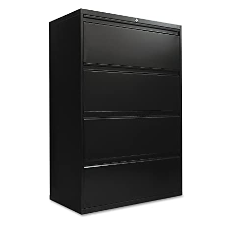 Amazon.com: Alera 4-Drawer Lateral File Cabinet, 36 by 19-1/4 by ...