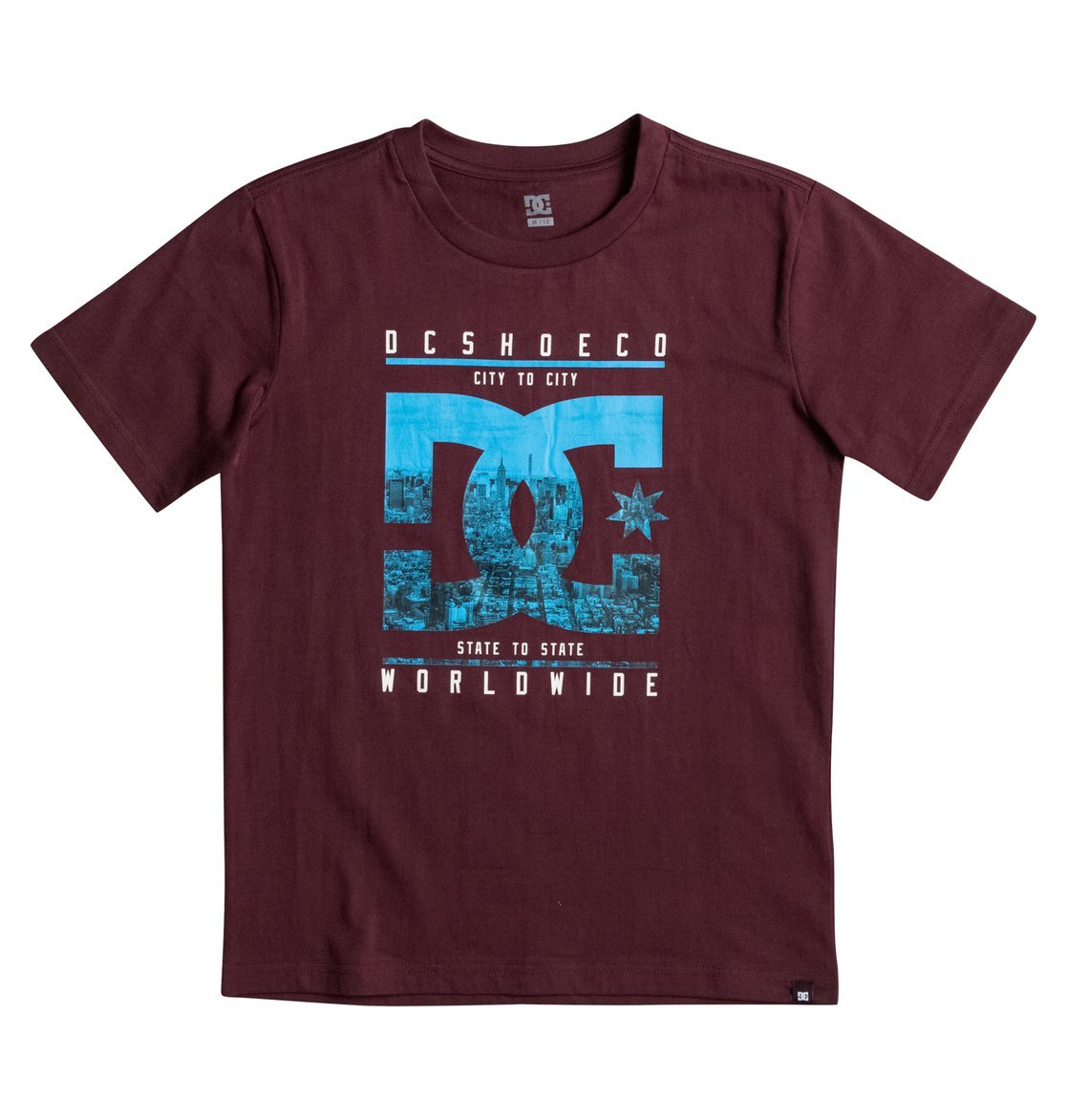 EDBZT03237 Enfants DC Shoes City State SS Boy T-Shirt