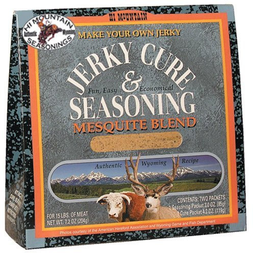 [Hi Mountain Jerky Mesquite Jerky Blend, 7.2-Ounce Boxes (Pack of 4) by Hi Mountain Jerky] (7.2 Ounce Boxes)