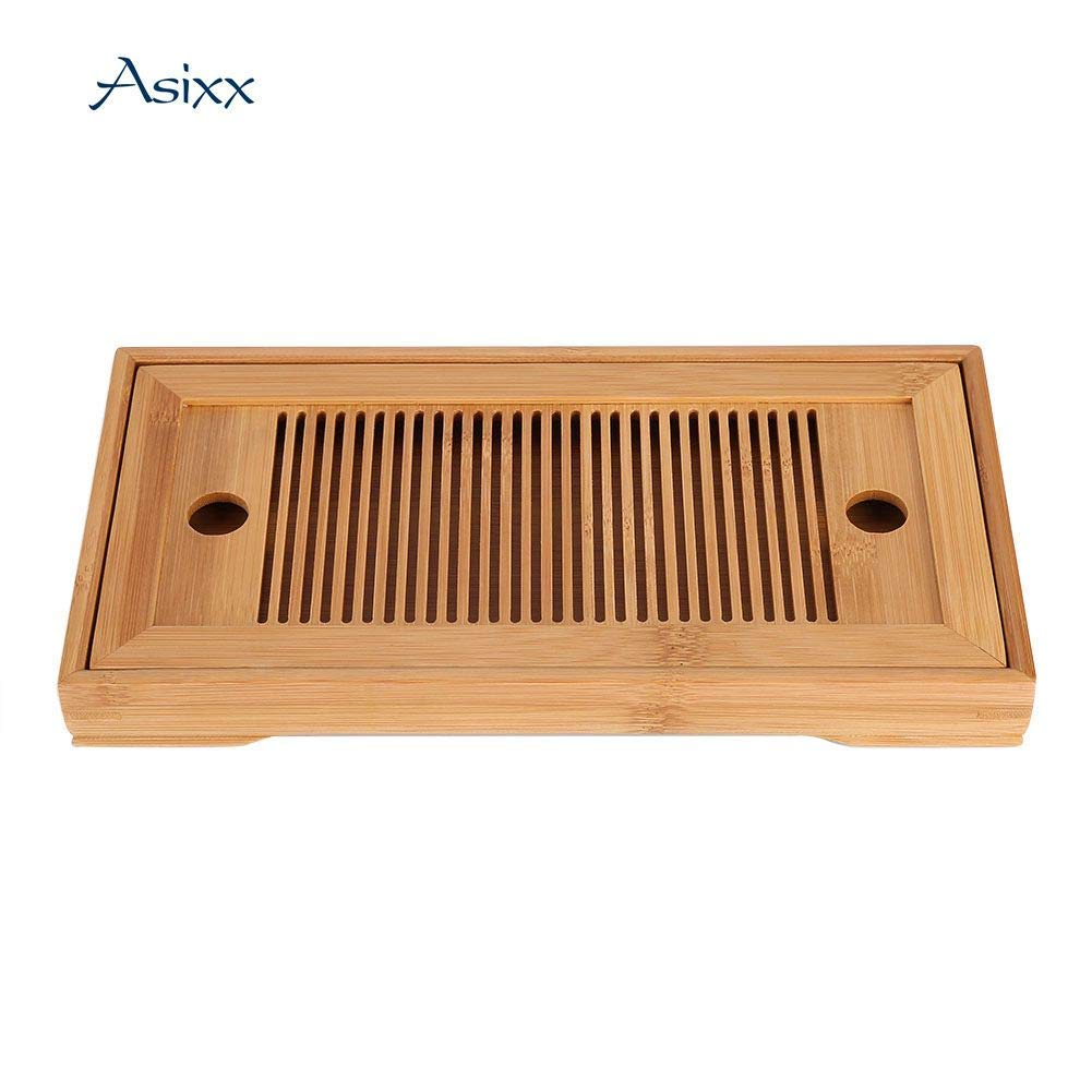 Chinese tea cups Reservoir type Tea tray made of bamboo Rectangle Reservoir type tea cups Tea pots Tea ceremony Chinese tea pots by TAQUA (Image #1)