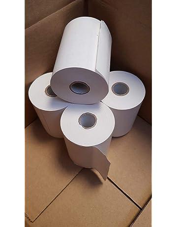 Rollo de papel Térmico 80 x 45 x 12 mm 8 Unidades valido impresoras TPV Cajas