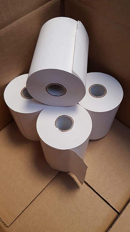 Rollo de papel Térmico 80 x 45 x 12 mm 8 Unidades valido ...