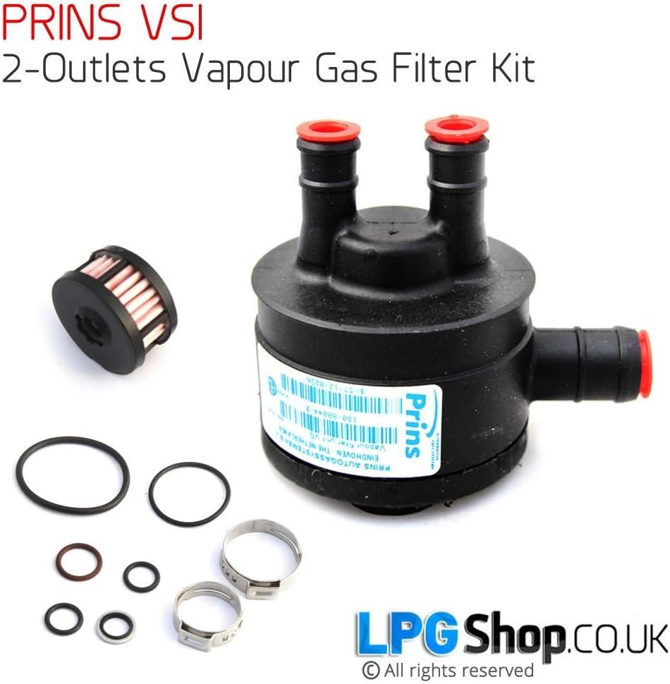 LPG GPL Filter Prins VSI Filterset 1 Ausgang Autogas