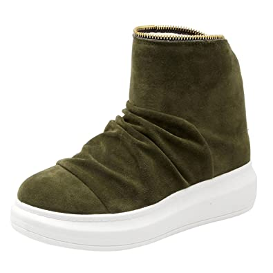Winter Snow Boots Back Zip Women's Warm Cozy Fluffy Lined Shoes By VFDB