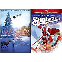 Santa Clause the Movie & Prancer the Reindeer Double Feature DVD Bundle 25th Anniversary Holiday Collection