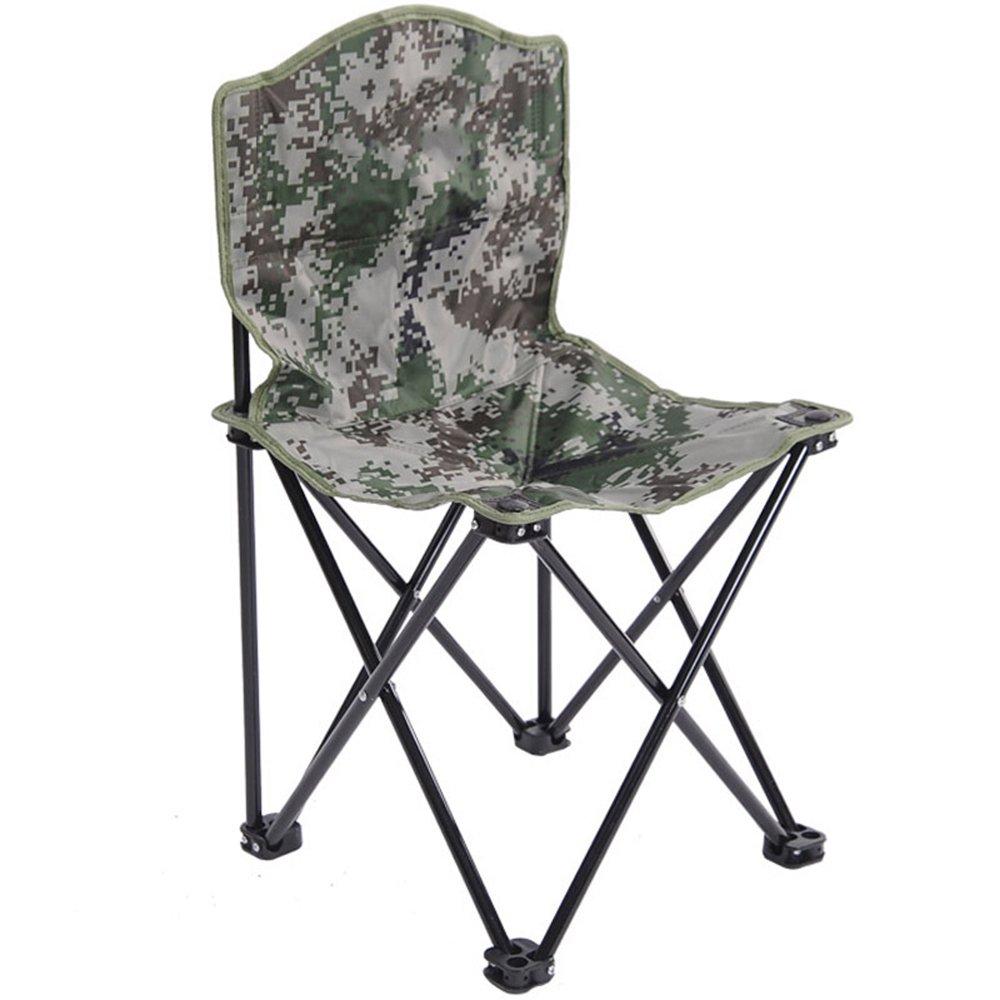B  GFL Chaises Chaise Pliante Dossier Extérieure portable Plage Camping Pêche Chaise Occasionnelle (A++) (Couleur   A)