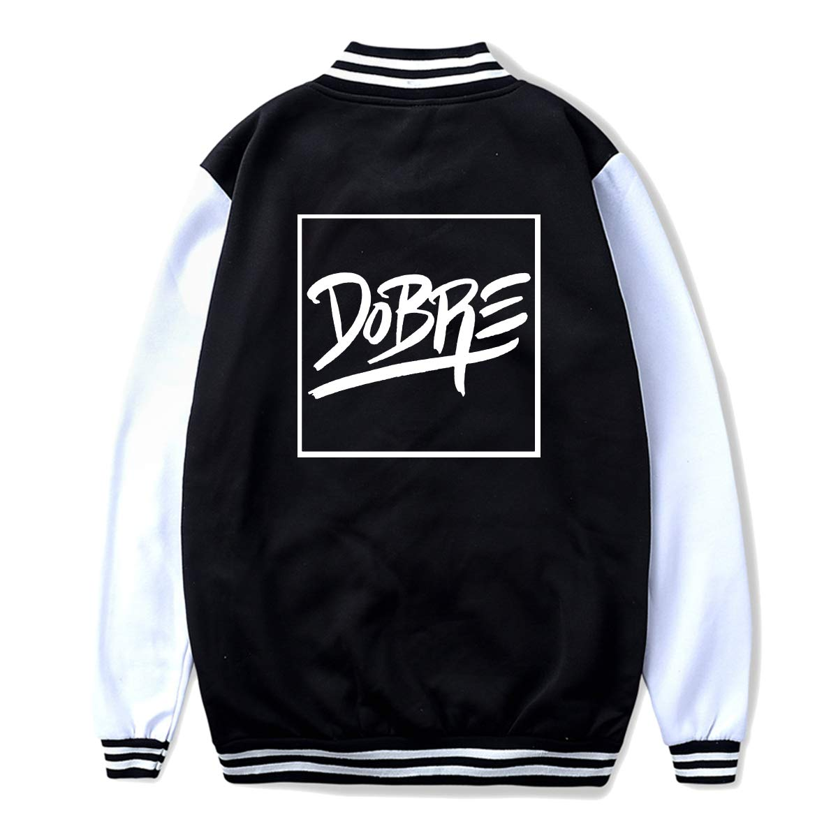Dobre Brother Logo Teen Boys Girls Youth Teenage Sport Baseball Uniform Jacket Coat Sweater Coat
