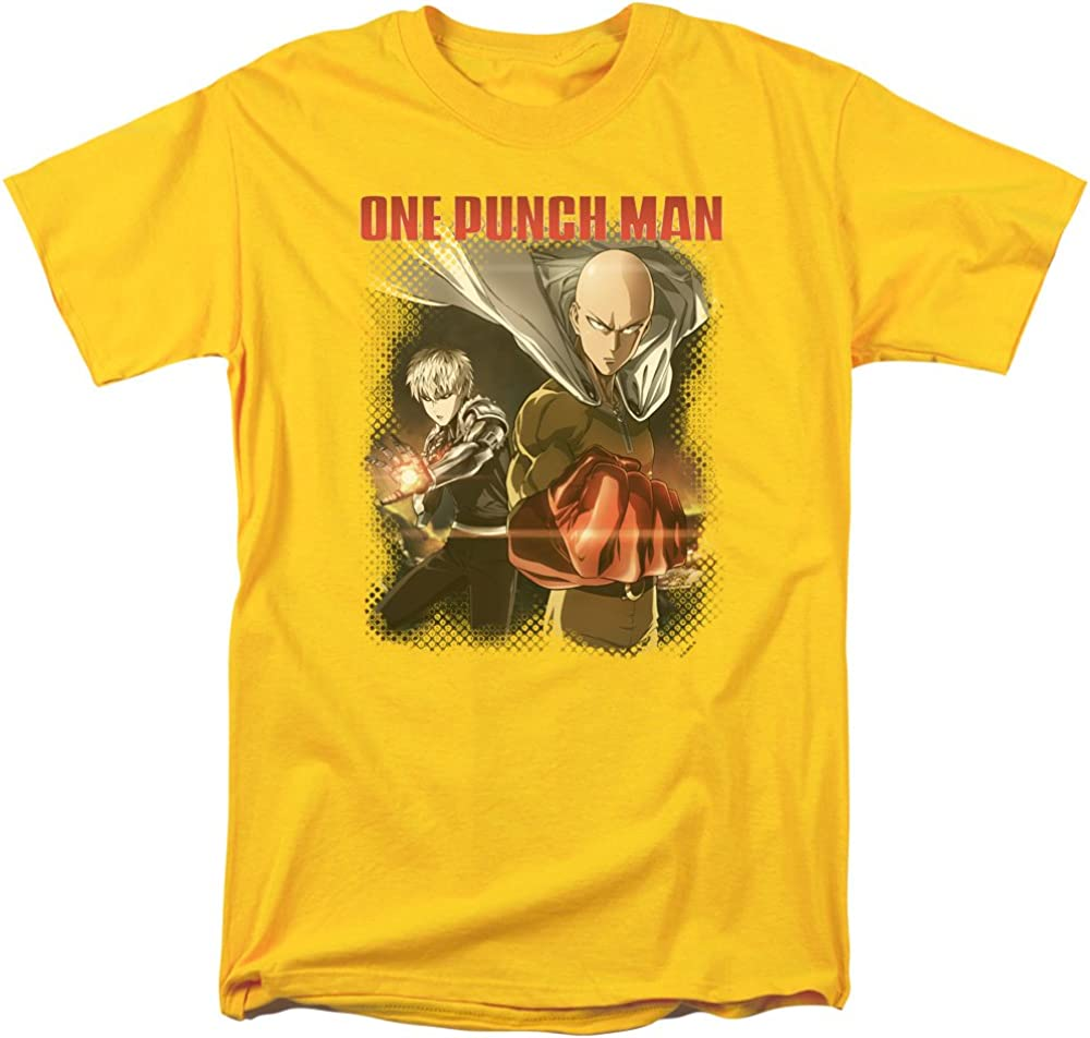 One Punch Man CAST OF CHARACTERS Adult T-Shirt All Sizes