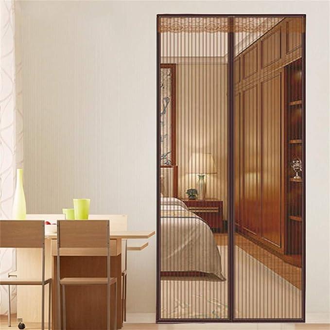 FOOX Cortina Mosquitera Magnética para Puertas, Imanes Cierre Automático, para Puertas Correderas/Balcones/Terraza,36x80in/90x200CM: Amazon.es: Hogar
