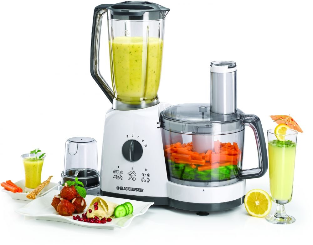Black & Decker FX710 750-Watt Food Processor, 220 Volts (Not for USA - European Cord)