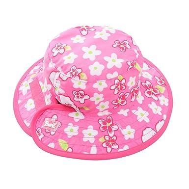 Amazon.com  Baby Banz Reversible Sun Hat - 0-2yrs Pink Hawaii  Clothing 0d22ea321918