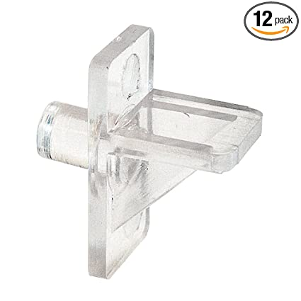 Amazon Com Shelf Support Pegs 5mm Outside Diameter Plastic Construction Clear Pack Of 12 Home Improvement