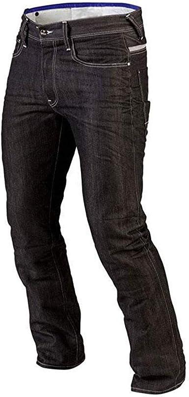 Juicy Trendz Herren Motorrad Biker Jeans Hose Verstärktes Schutzfutter Inklusive Rüstungen Gr 32 W 32 L E Schwarz Bekleidung