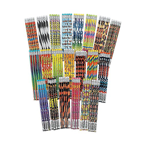 Fun Express Deluxe Pencil Assortment (100 Pcs. Per Unit) 7 1/2