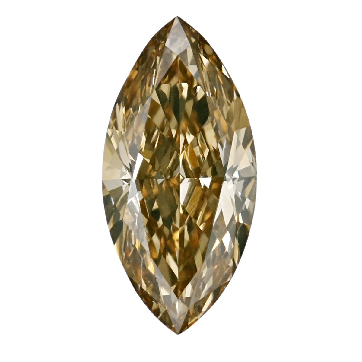 GIA Certified Marquise Natural Loose Diamond ( Carat: 1.17 , Color: Fancy deep brownish yellowish orange, Clarity: SI1 )