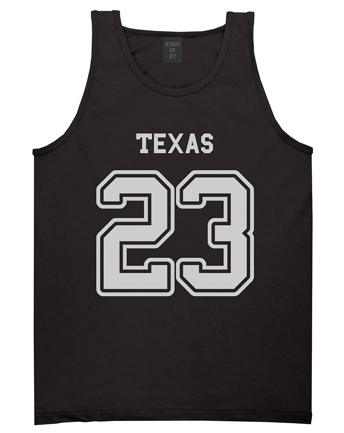Sport Style Texas 23 Team State Jersey Mens Tank Top