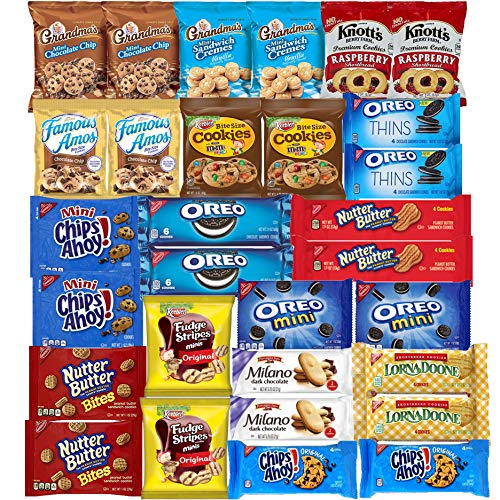 Cookies Variety Assortment Sampler Individually