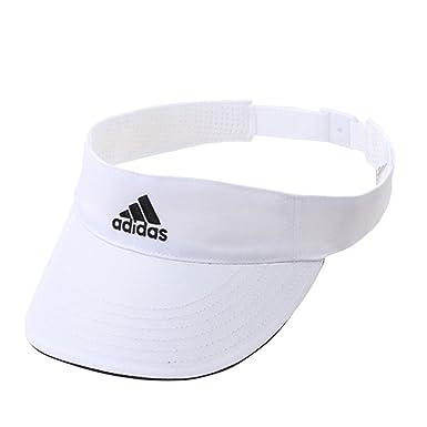 eb37d63b adidas Performance Climalite Visor Cap - White: Amazon.co.uk: Clothing